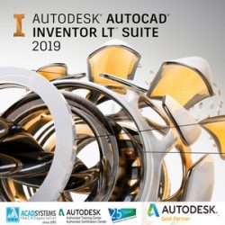 autocad inventor lt suite 2019 badge 300ppx