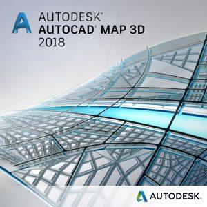 autocad map-3d 2018 badge