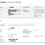 autodesk license certificate