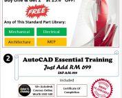AutoCAD 25% Promo FY18Q4 BOGO