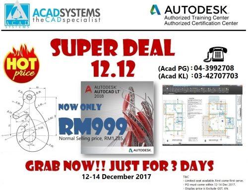 AutoCAD LT 12.12 Super Deal