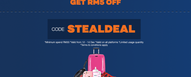 lazada 1212 stealdeal discount code general