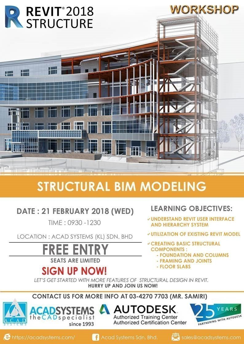 Structural BIM Modeling with Revit - Acad Systems | Autodesk Gold