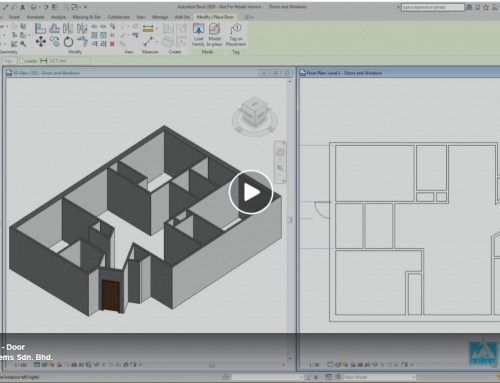 Revit Tutorial Video 2 – Door