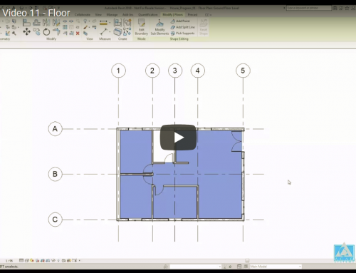 Revit Tutorial Video 11 – Floor