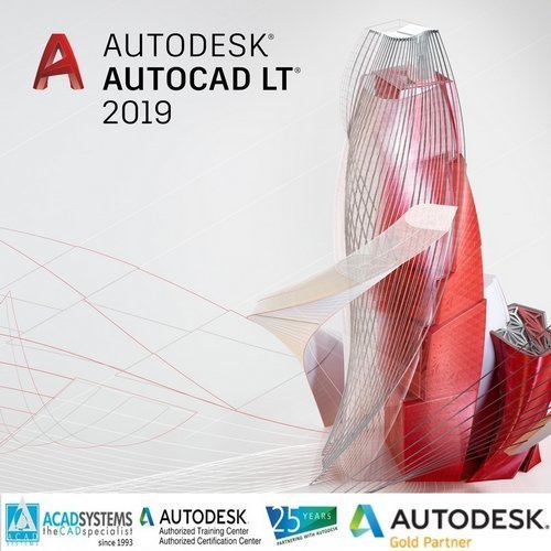 autocad lt 2019 badge 500px