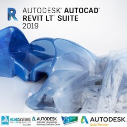 autocad revit lt suite 2019 badge 500px