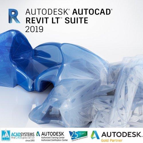 autocad revit lt suite 2019 badge 500px
