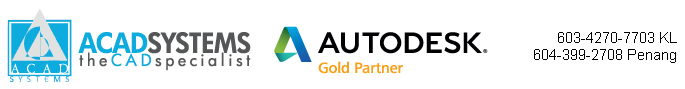 Acad Systems Malaysia | Autodesk Gold Partner and Training Center Logo