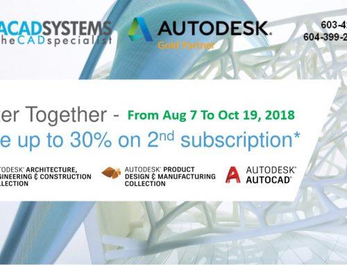 FY19 Q3 Autodesk Better Together Promotion