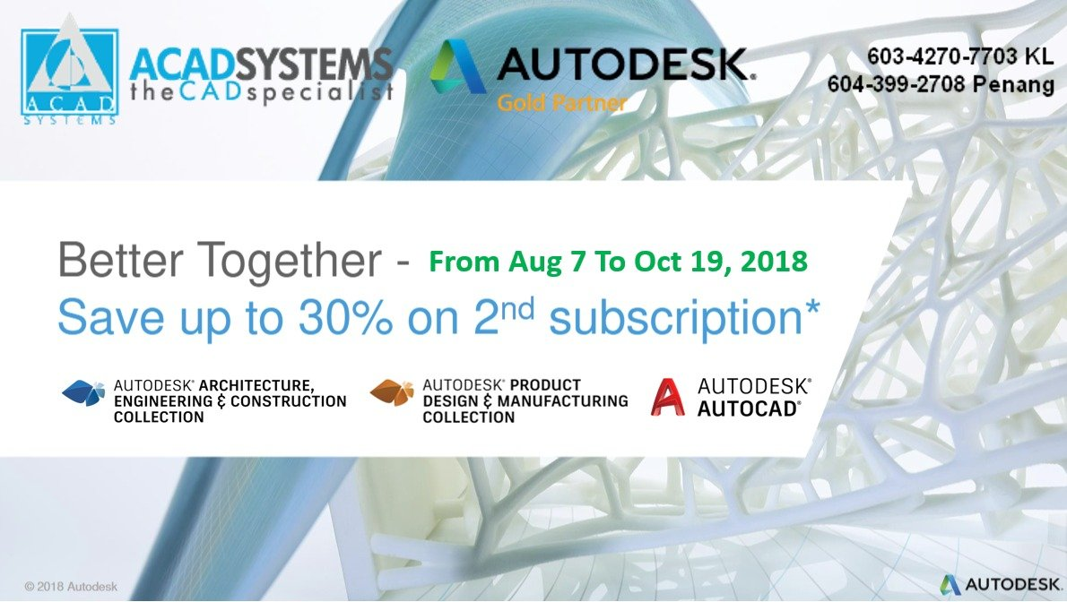 Autodesk Better Together promotion