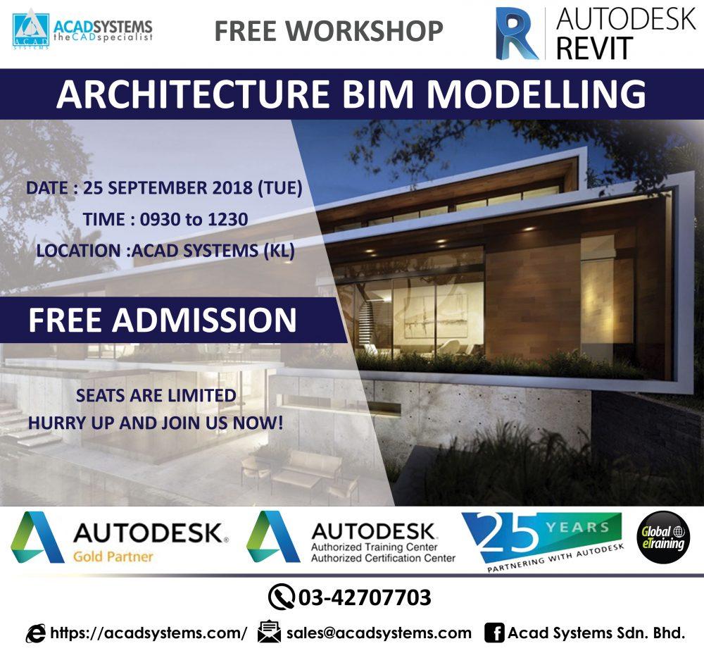 Revit architecture workshop 25 sept 2018