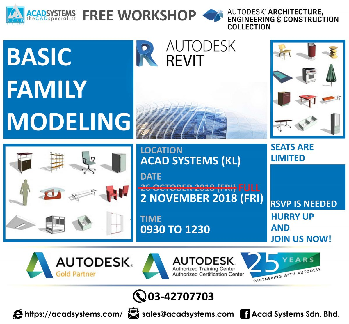 revit family Archives - Acad Systems | Autodesk Gold Partner