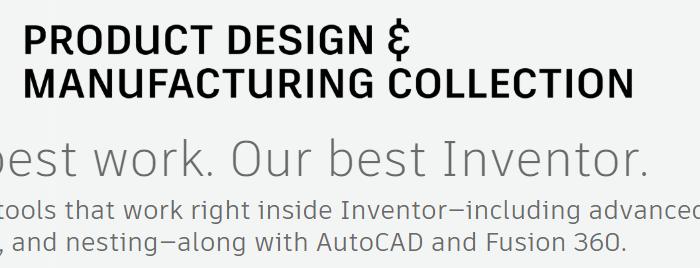Autodesk PDMC banner