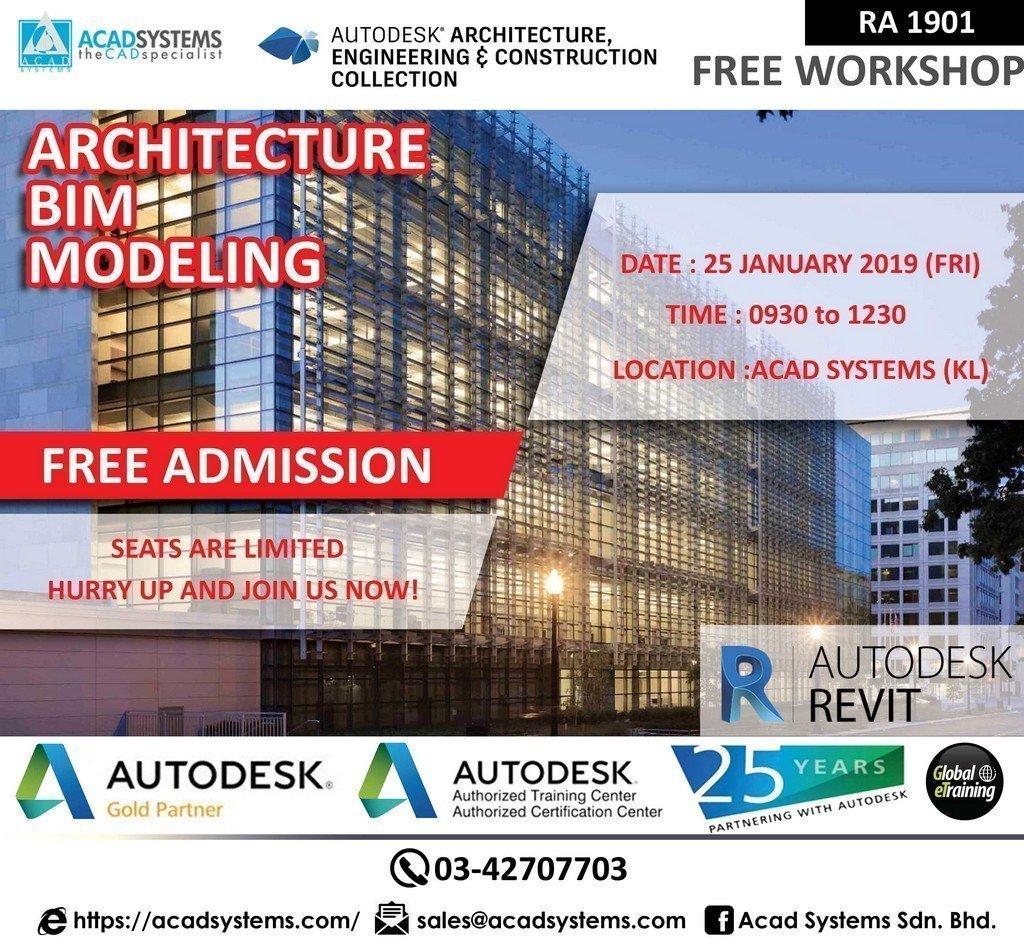 Architectural BIM Modeling 25 January 2019