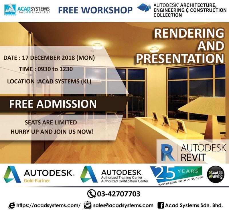 rendering and presentation workshop 17 dec 2018