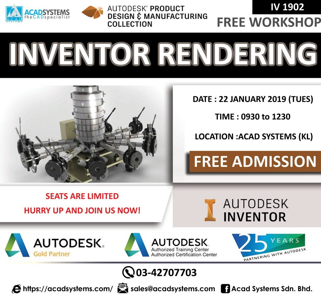 Inventor Rendering 22 January 2019