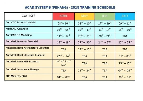 ACADPG2019 Schedule-AprJuly