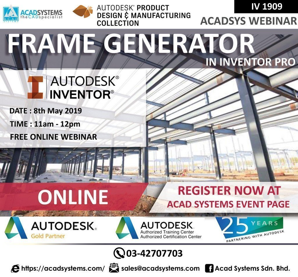Structural Frame Generator - Acad Systems | Autodesk Gold