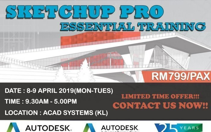 sketchup essential training april 2019