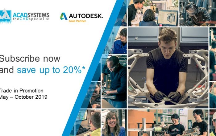 Autodesk Trade in promotion may to oct 2019