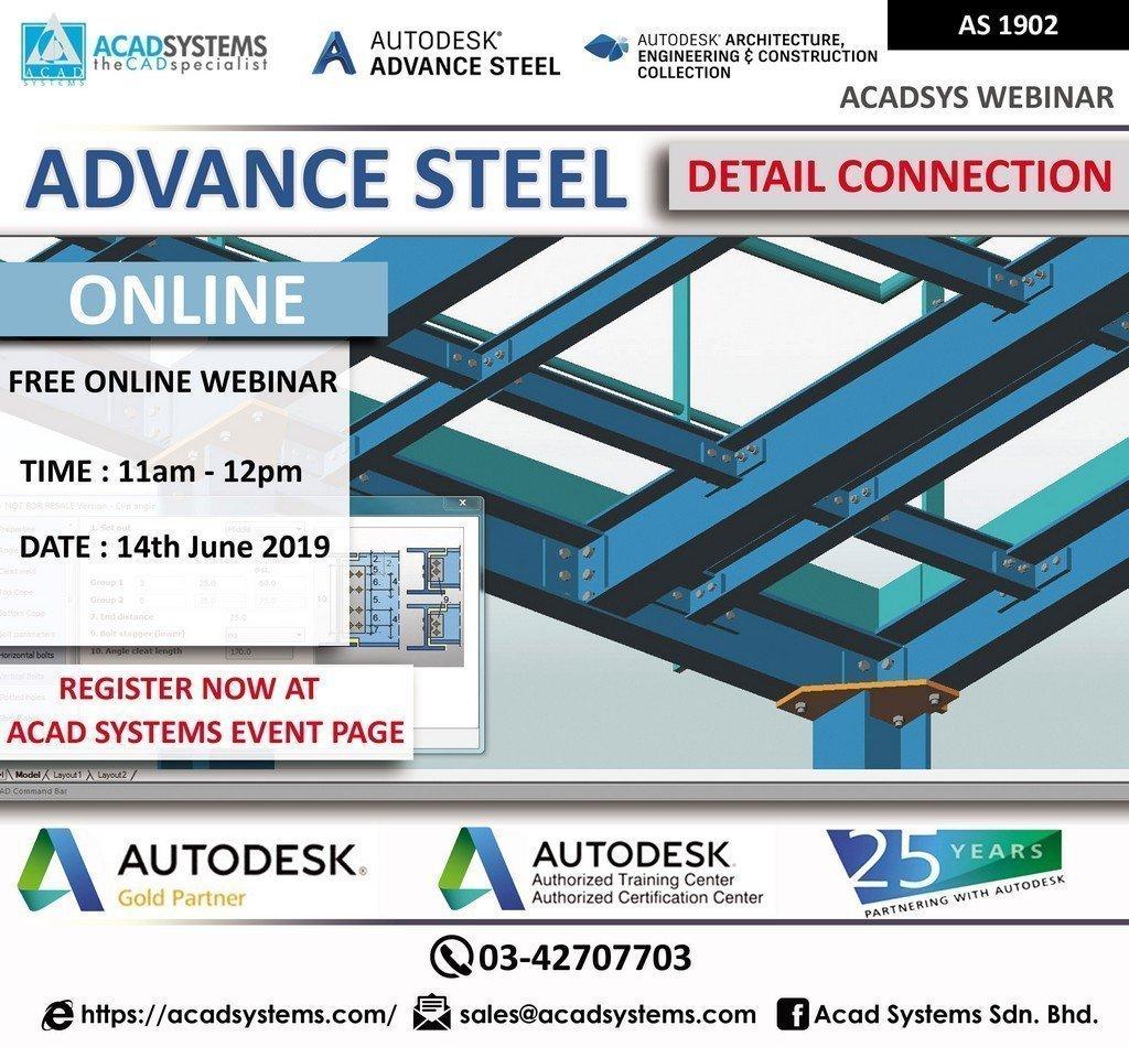 Advance Steel Webinar Jun 14 2019