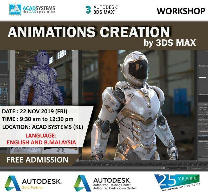 Animation Creation Workshop 22 NOV 2019