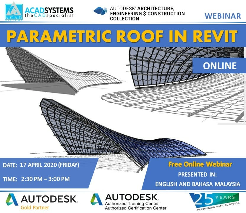 Parametric Roof In Revit Acad Systems Autodesk Gold Partner Training Certification Center